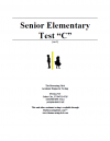 Senior Elementary Version C Booklet